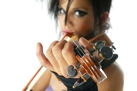Học đàn Violon (2) Thiên Ân